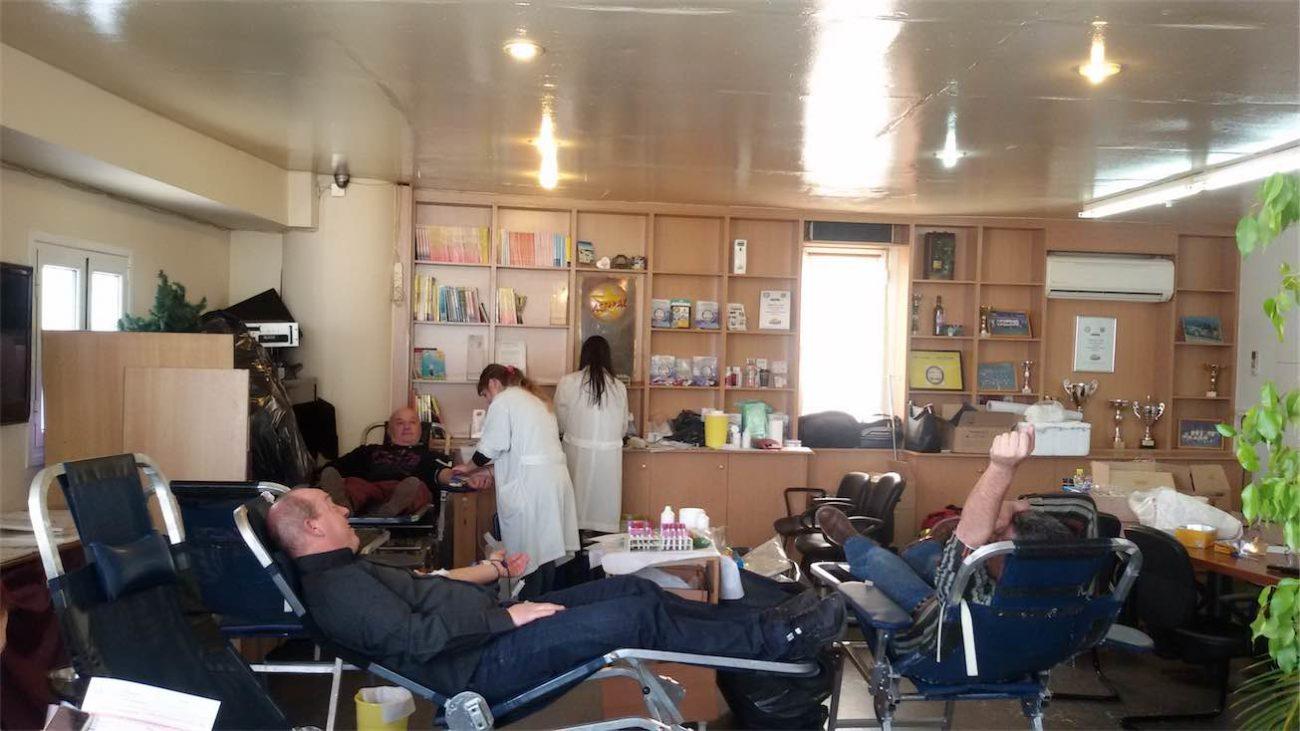 Αιμοδοσία 2017 – Ράδιο Ταξί Αστέρας – Ολοκληρώθηκε με απόλυτη επιτυχία